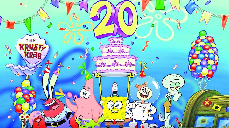 20 años Bob Esponja Nickelodeon
