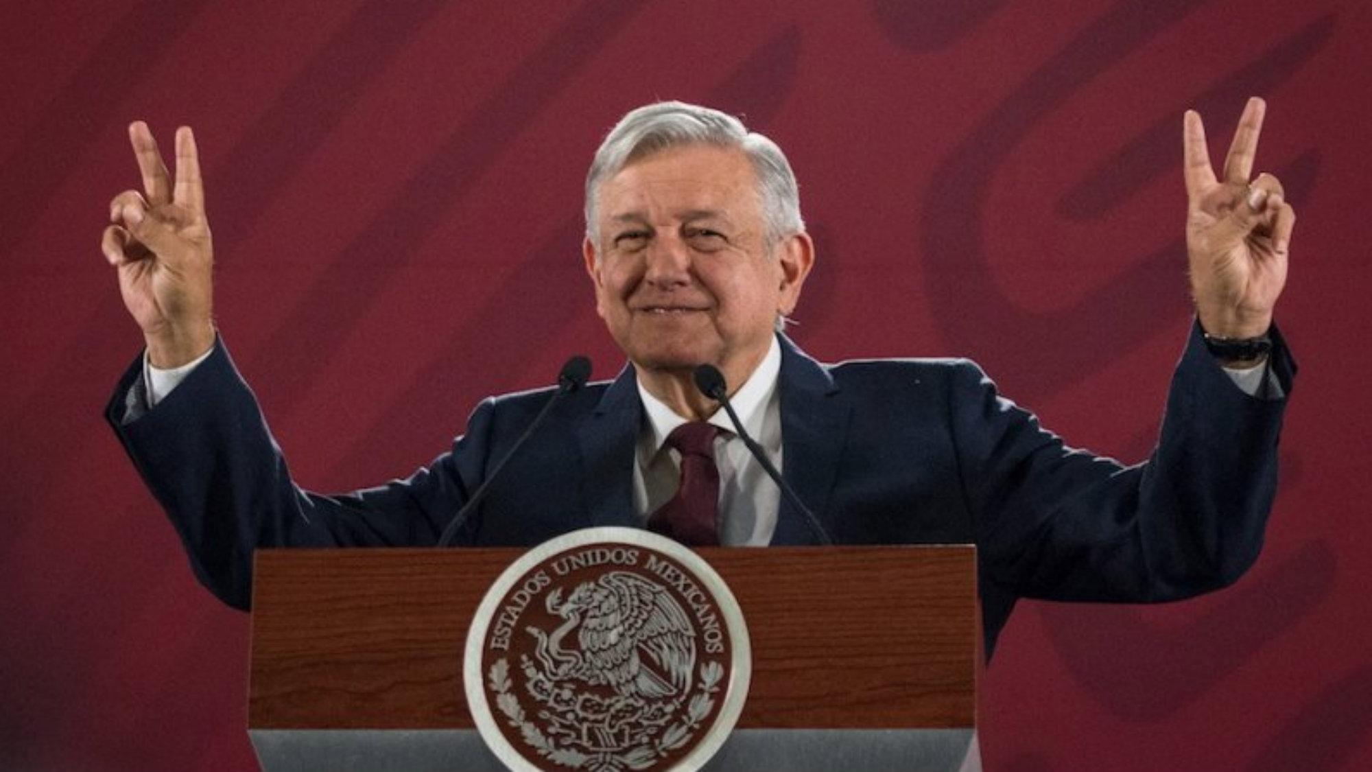 AMLOFest Primer año de gobierno Cuarta transformación Zócalo