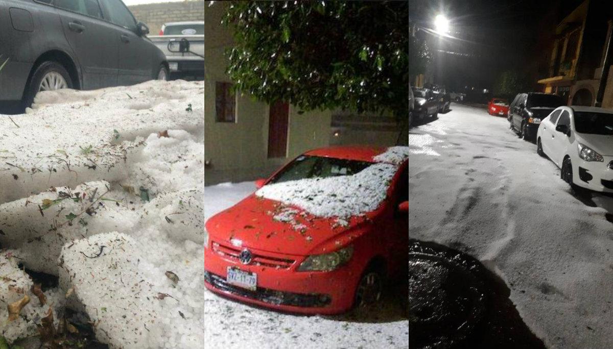 hielo granizo lluvia baja temperatura nieve videos fotos san miguel de allende