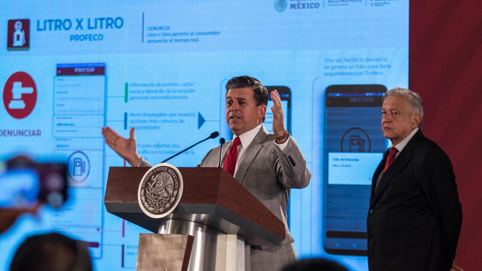 Lanzarán Litro x Litro la nueva aplicación de gasolina de la Profeco
