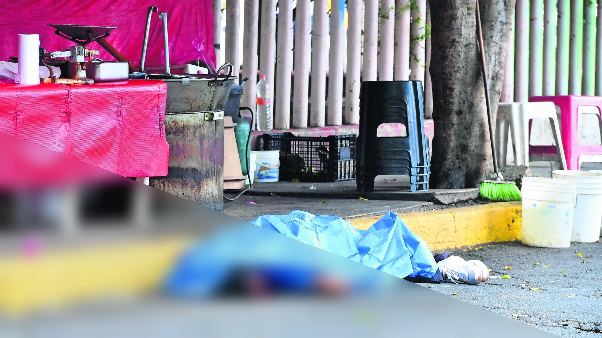 Asesinan a taxista Puesto de tacos Ejecutan a ruletero CDMX Iztapalapa