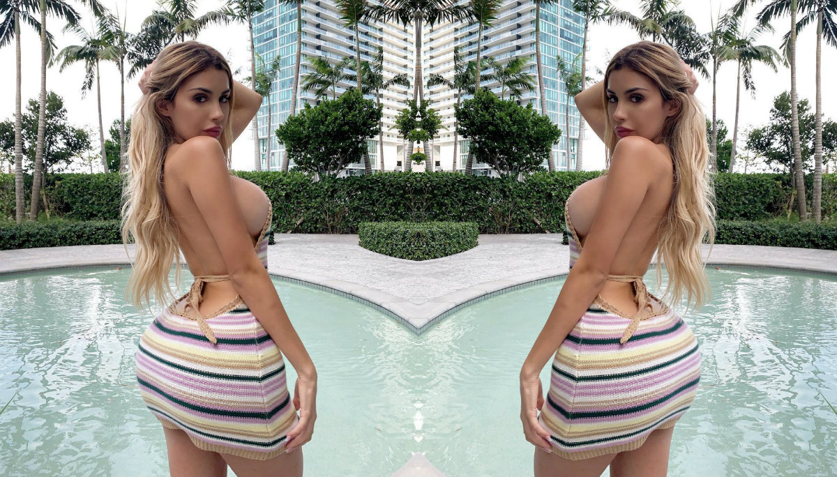 Alexa Dellanos desborda de más en micro bikini y sus fans ven fuegos artificiales