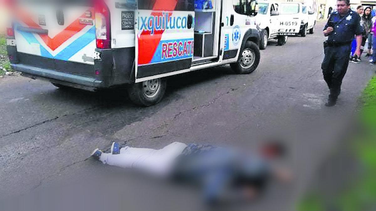 Ladrón asesinado balazos justiciero anónimo