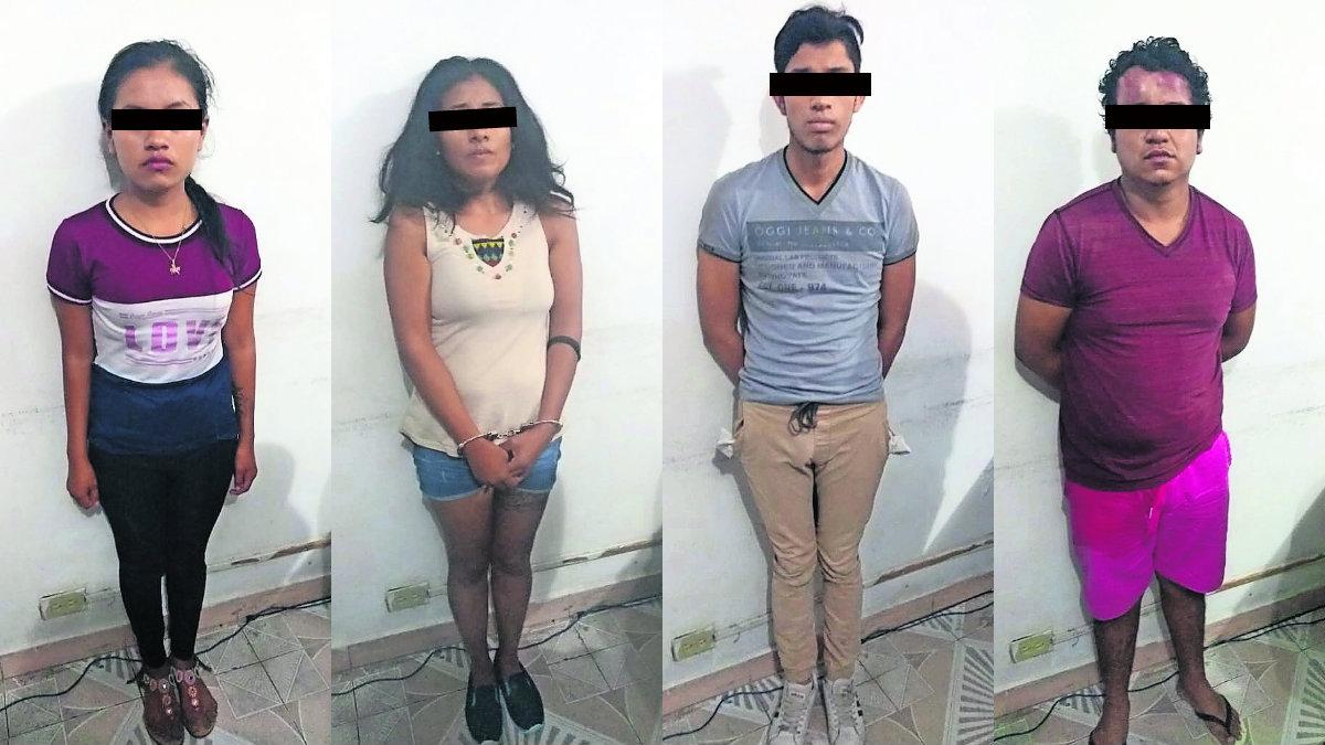 Seis narcomenudistas fueron detenidos entregaban