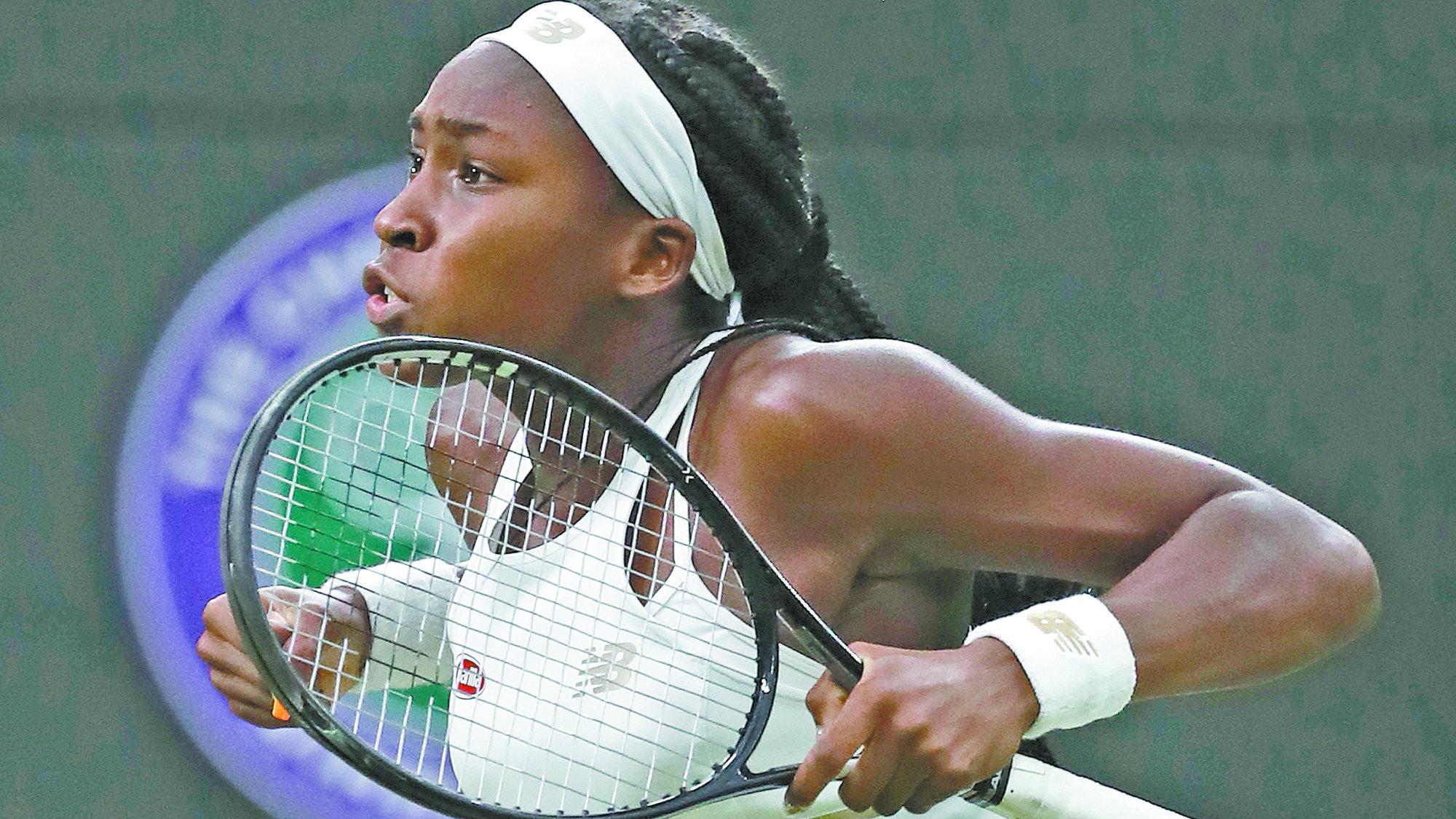 Tenis tenista Cori Gauff sigue crecimiento