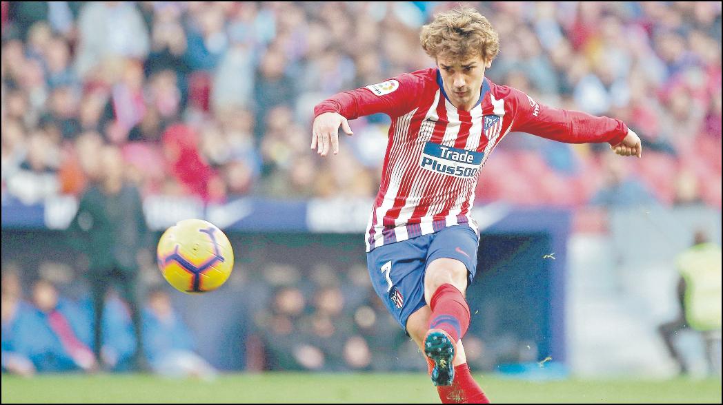 """Atlético de Madrid acusa al Barcelona y a Griezmann de """"faltarles el respeto"""""""