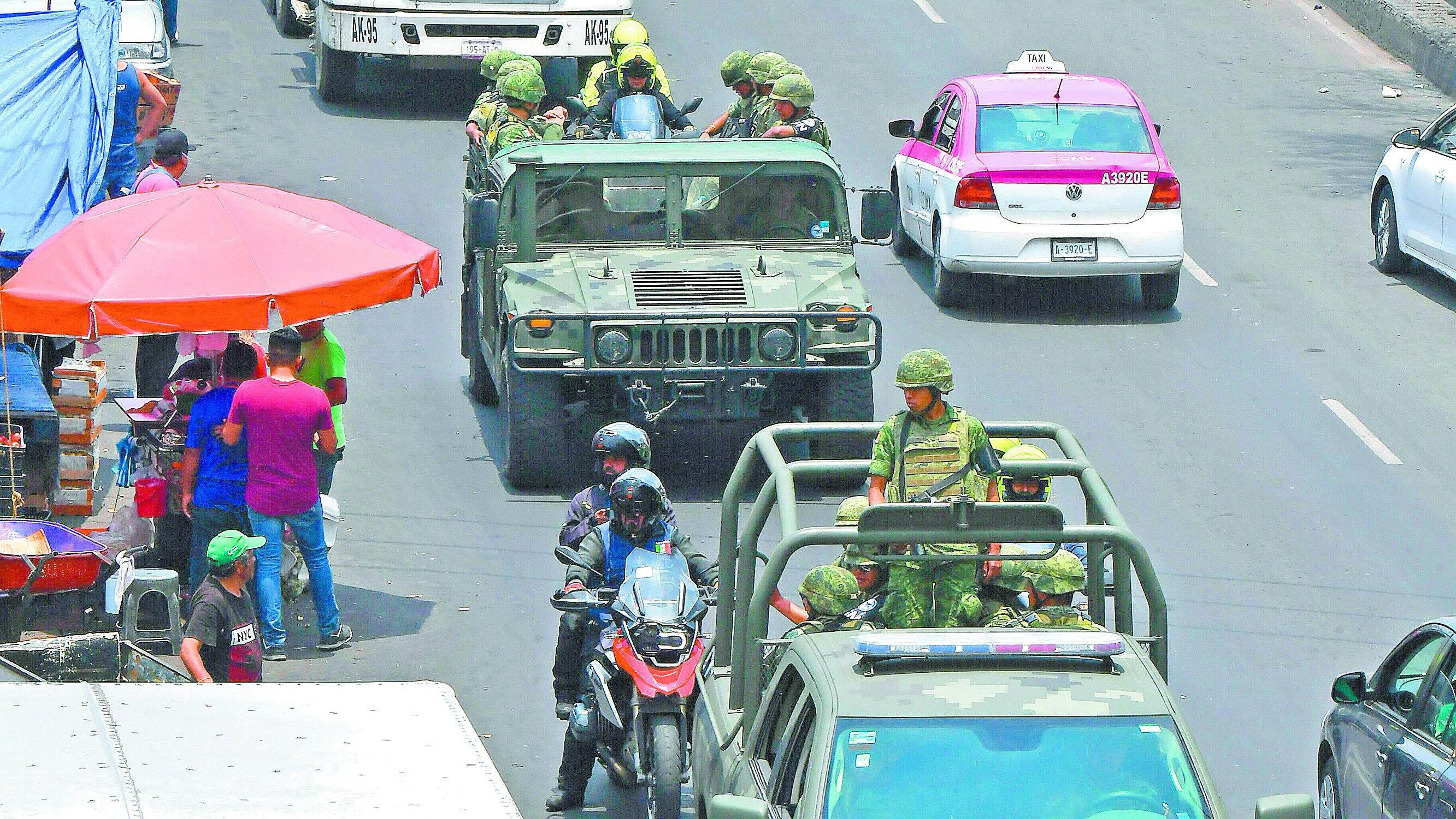 Guardia Nacional entró Iztapalapa