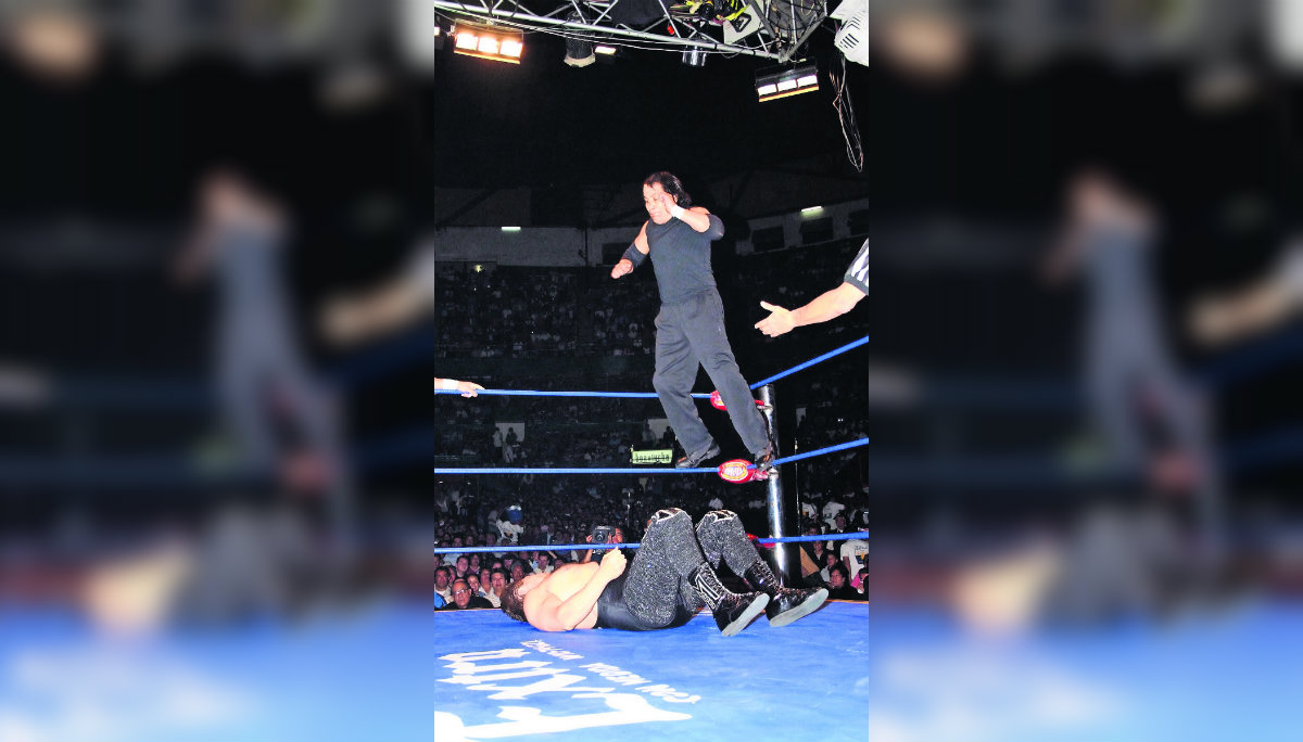 Lucha Libre Perro Aguayo funeral