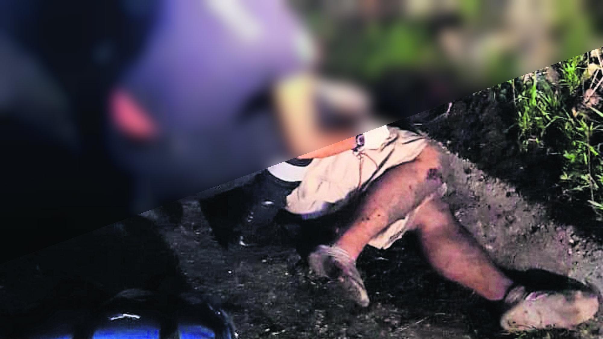 Motociclista borracho Pierde el control Derrapa Morelos