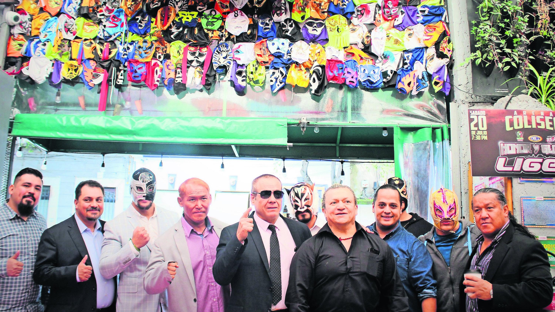 batalla real despedir Liger Lucha Libre