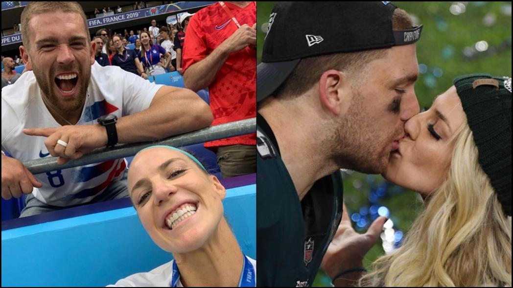 Conoce a la pareja Ertz, campeón de Super Bowl y campeona del mundo
