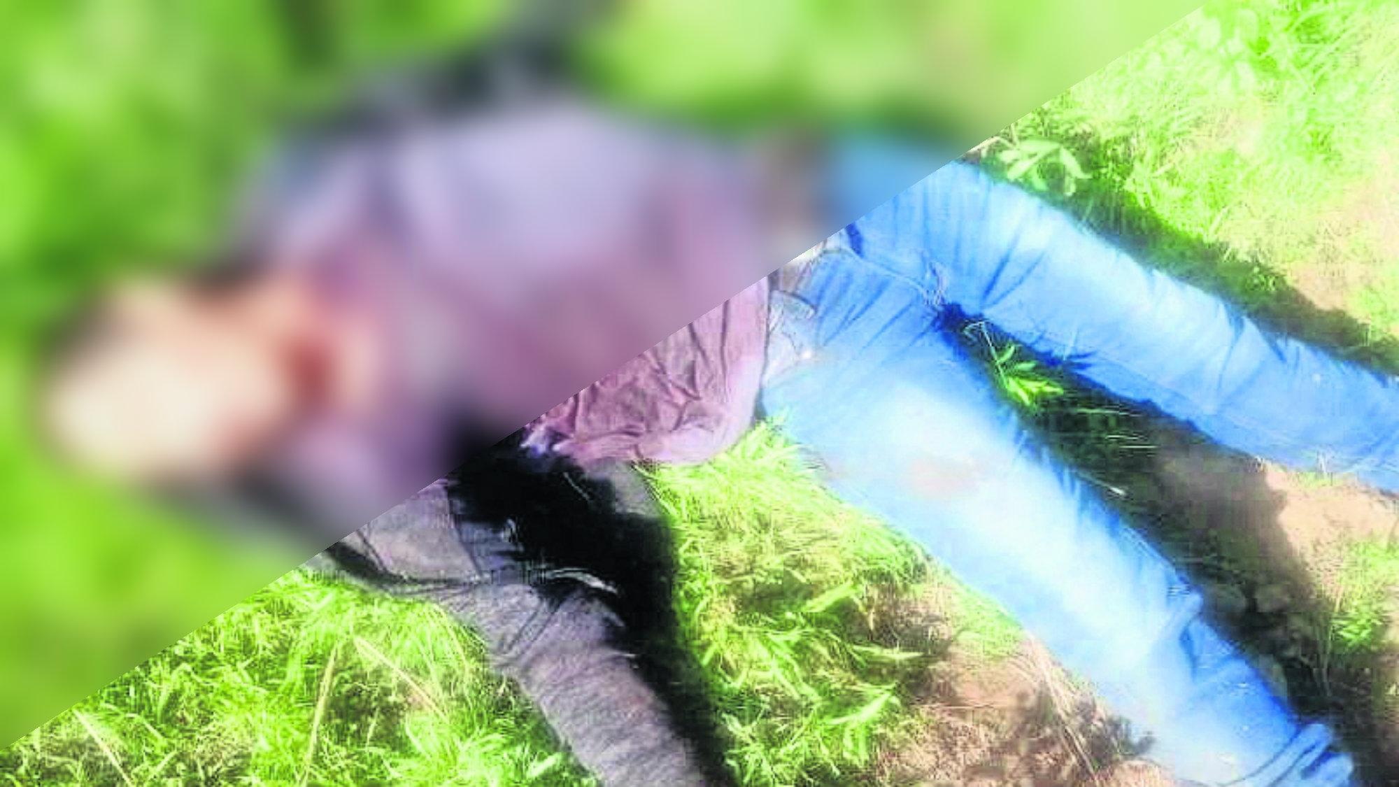 Hombre degollado Morelos Corte en el cuello