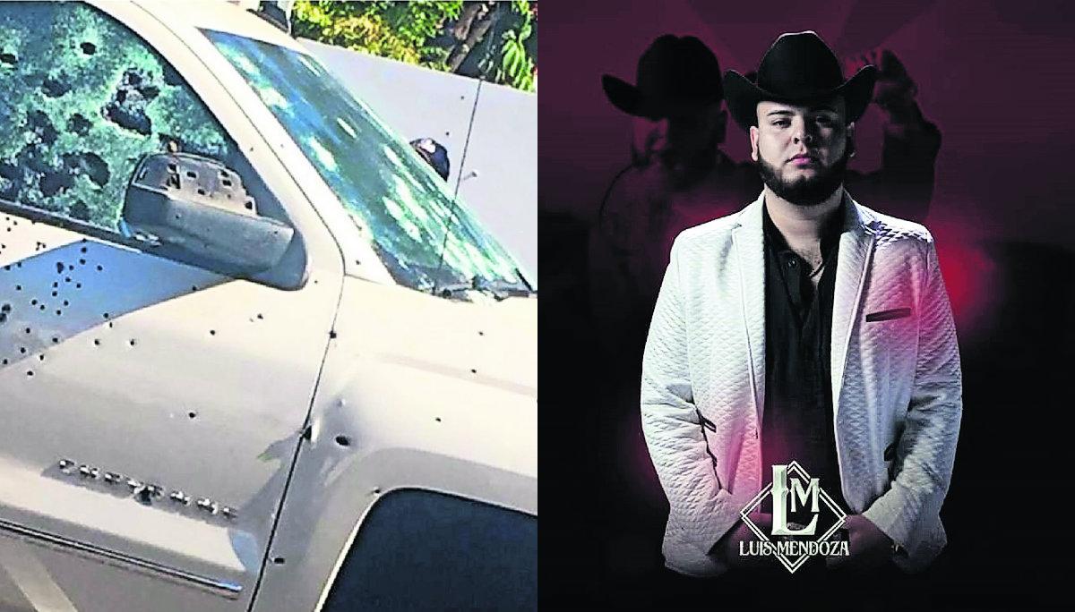 300 plomazos cantante grupero Luis Mendoza
