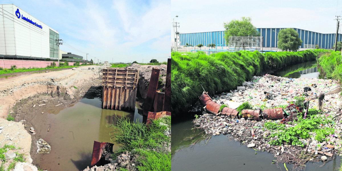 Ciudadanos temen inundaciones Toluca