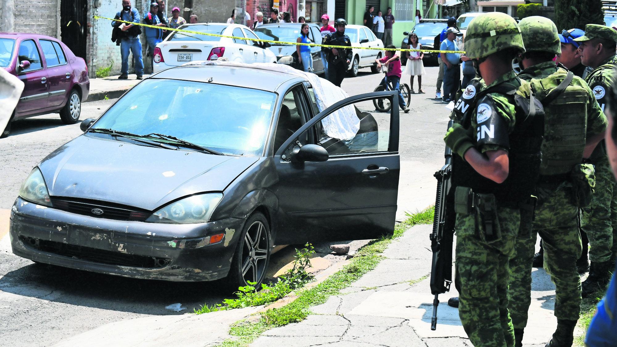 Ejecutan a hombre Guardia Nacional Tiro a la cabeza CDMX Iztapalapa