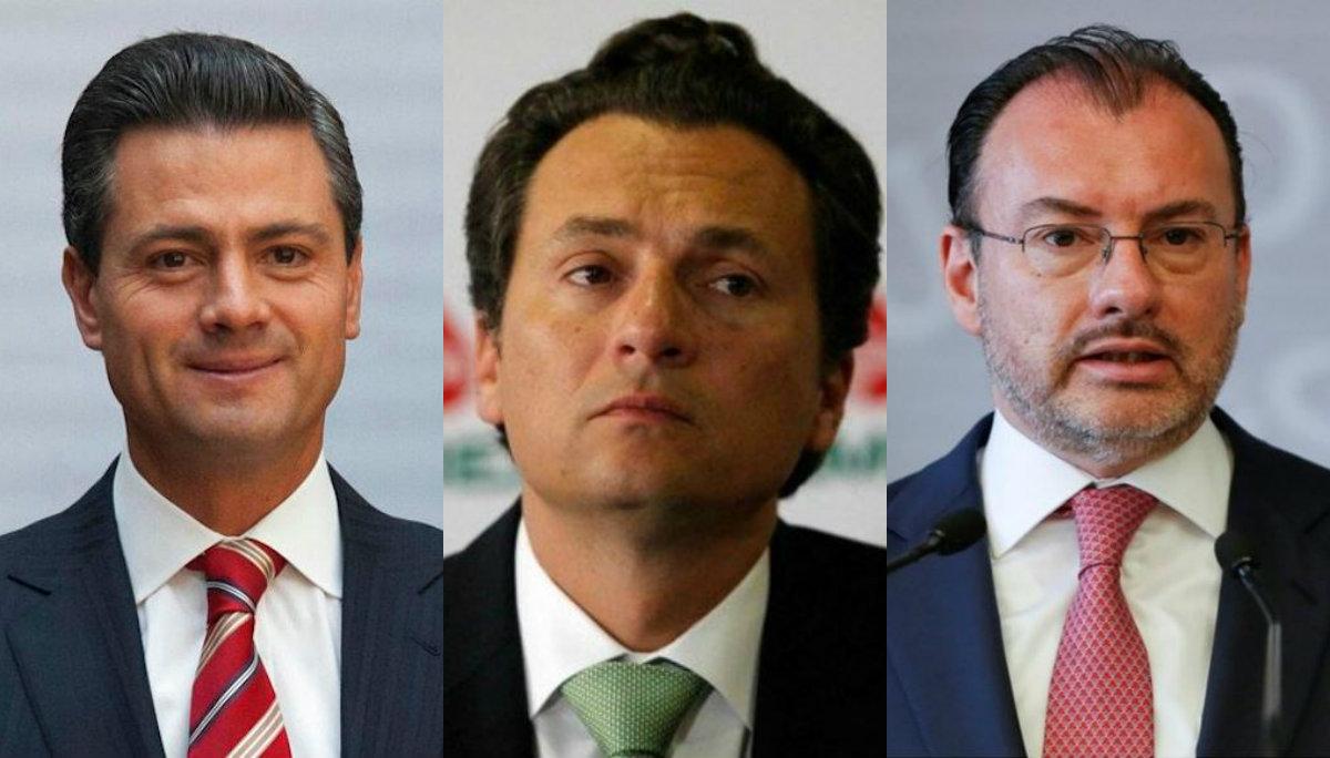 enrique peña nieto testigos emilio lozoya luis videgaray juez rechaza testificar pruebas pemex funcionarios abogado