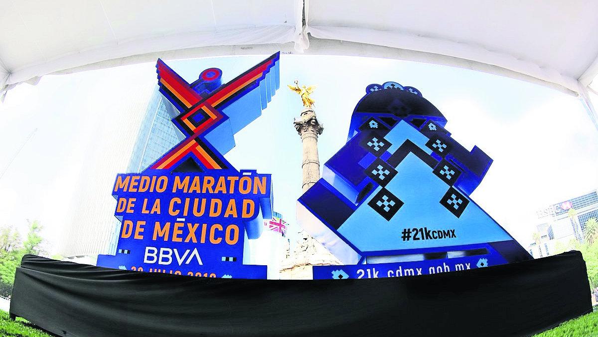 medalla Medio Maratón CDMX Deporte