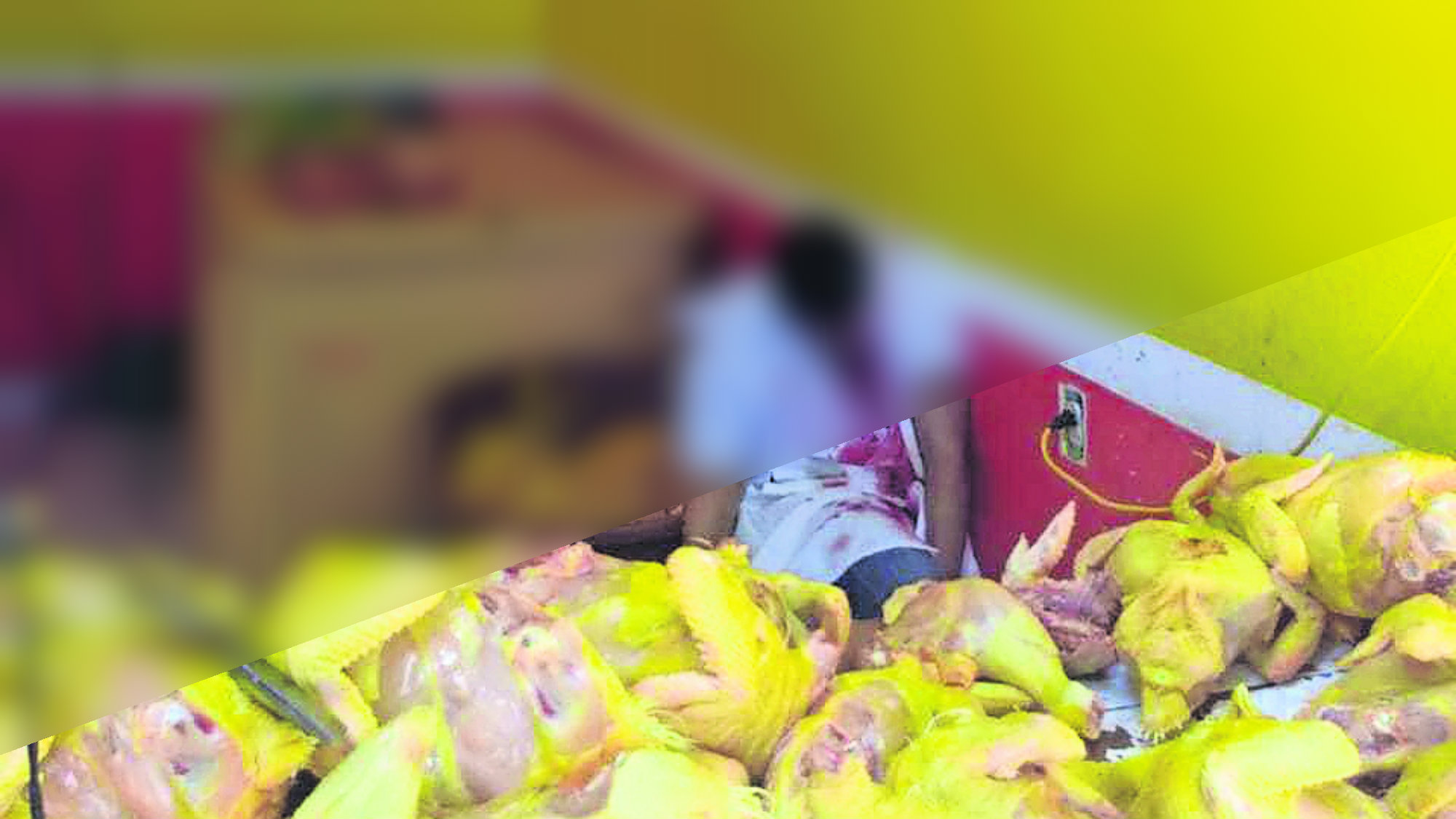 Asesinan a pollero Homicida en pollería Edomex Amecameca