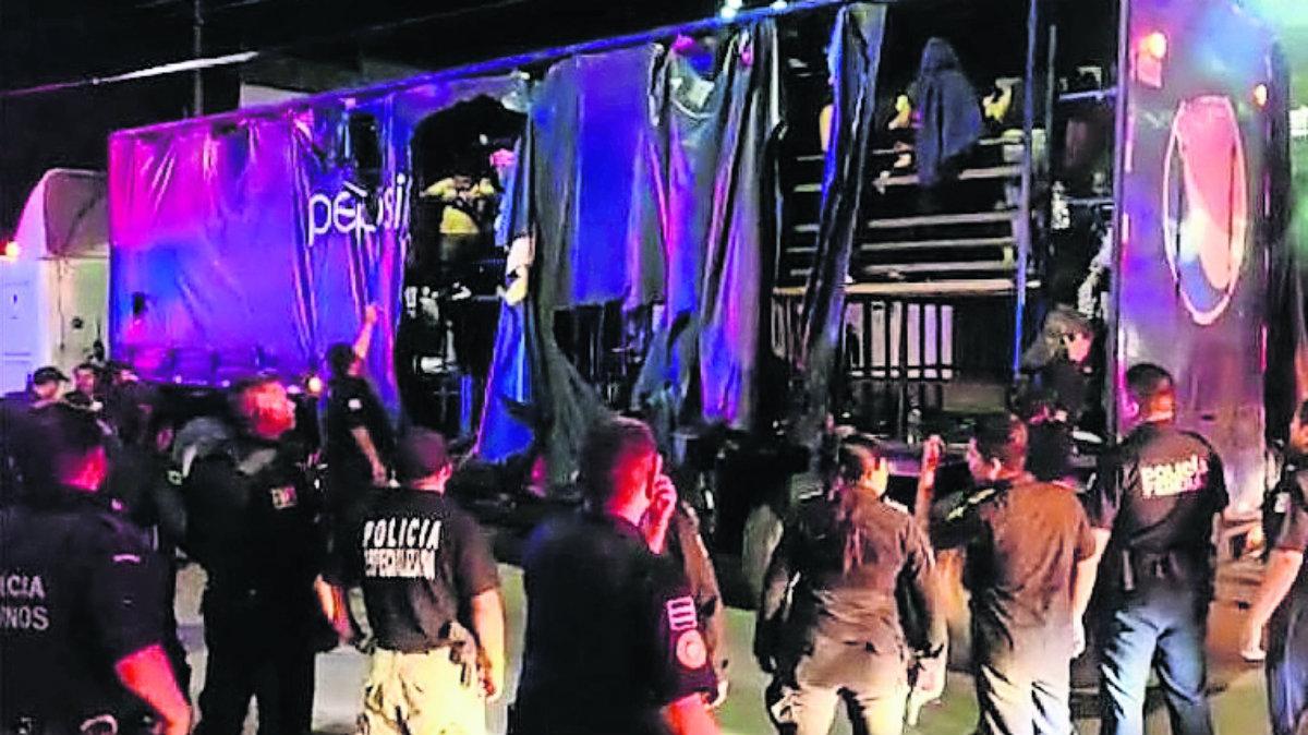 Autoridades aseguran 228 migrantes