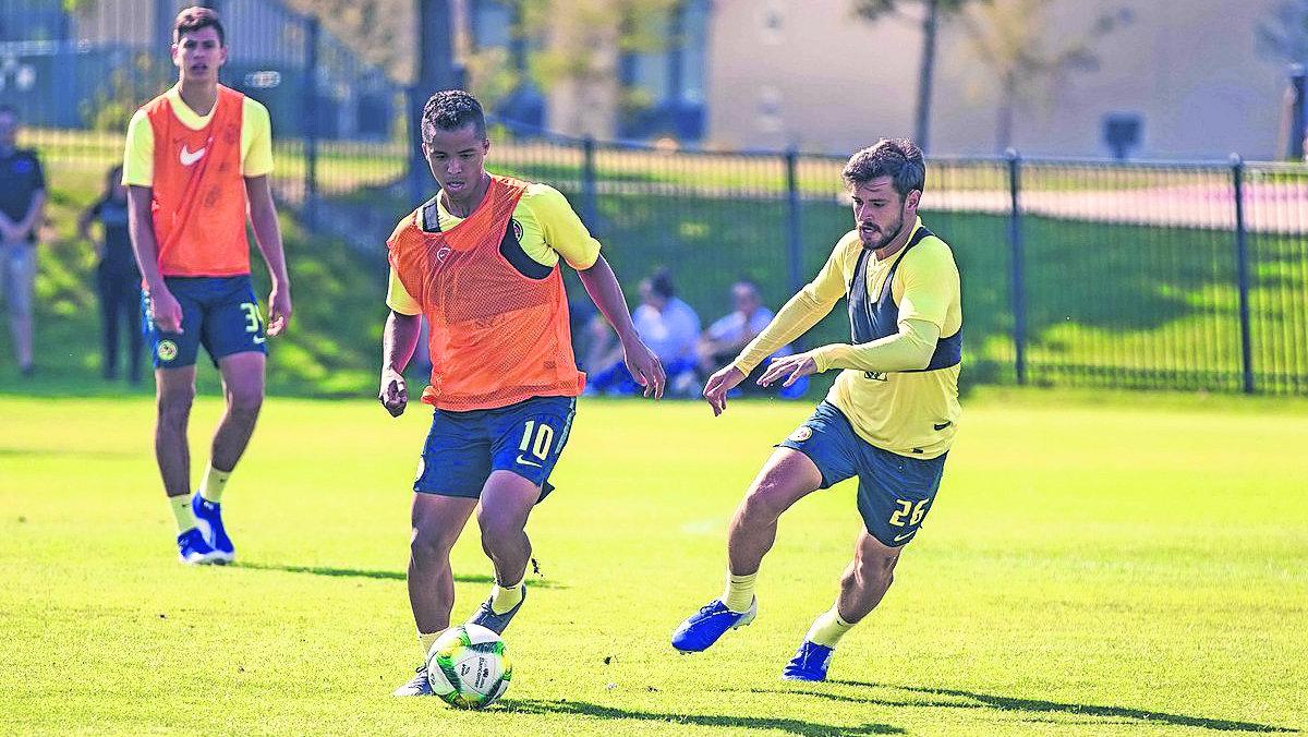 Giovani dos Santos se integró entrenamientos