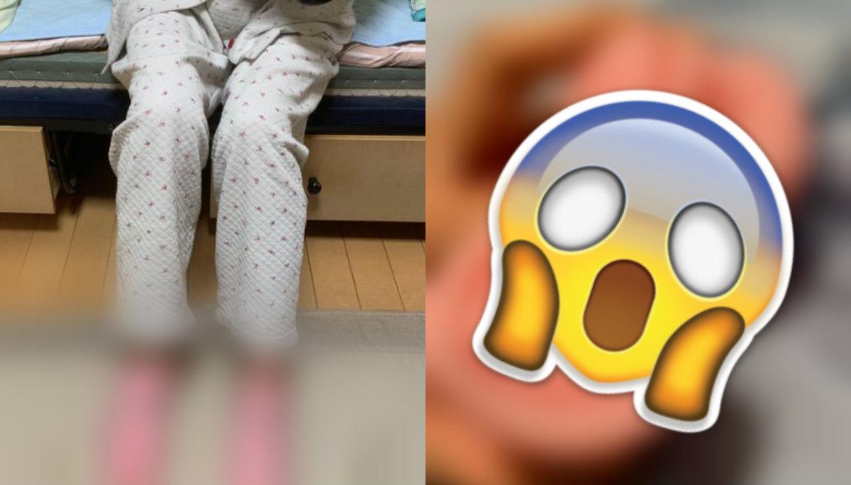 abuelita confunde juguete sexual calcetines calcetas térmicas video nieto viral redes sociales