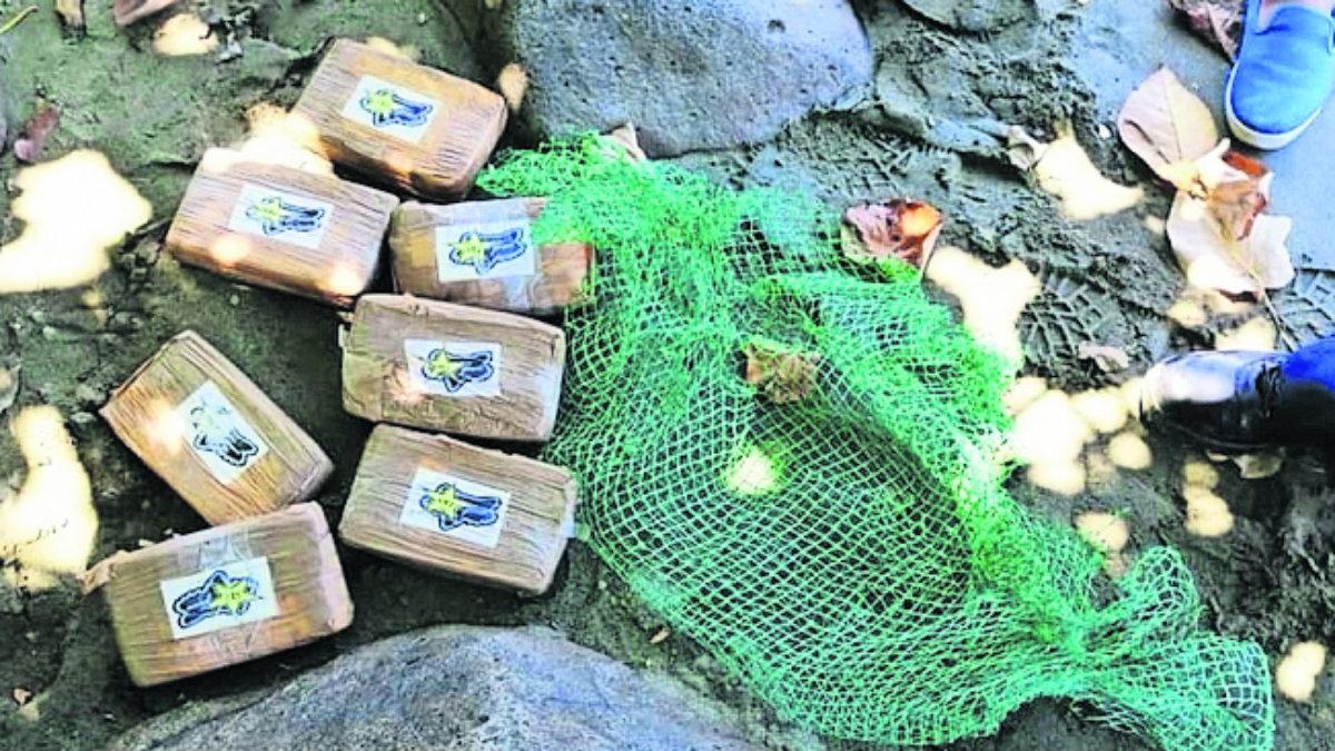 paquetes de cocaína aparecen playa quezón filipinas droga