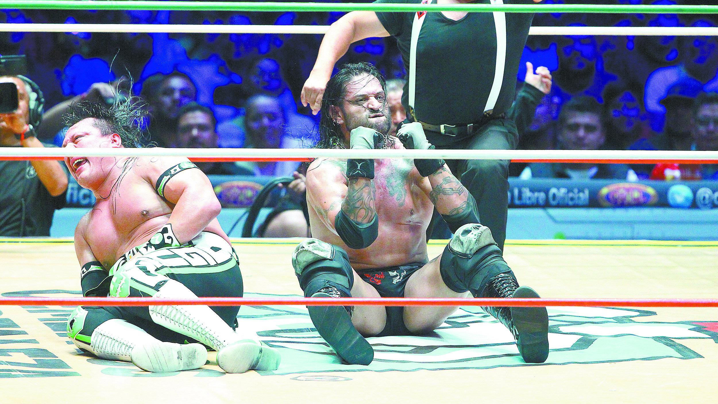 El Guerrero quiere greñas Ciber