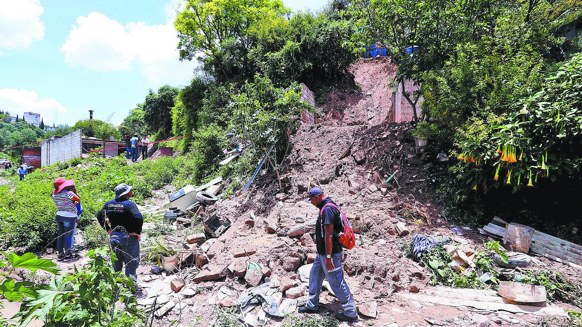 Puebla Graduación terminó bajo la tierra