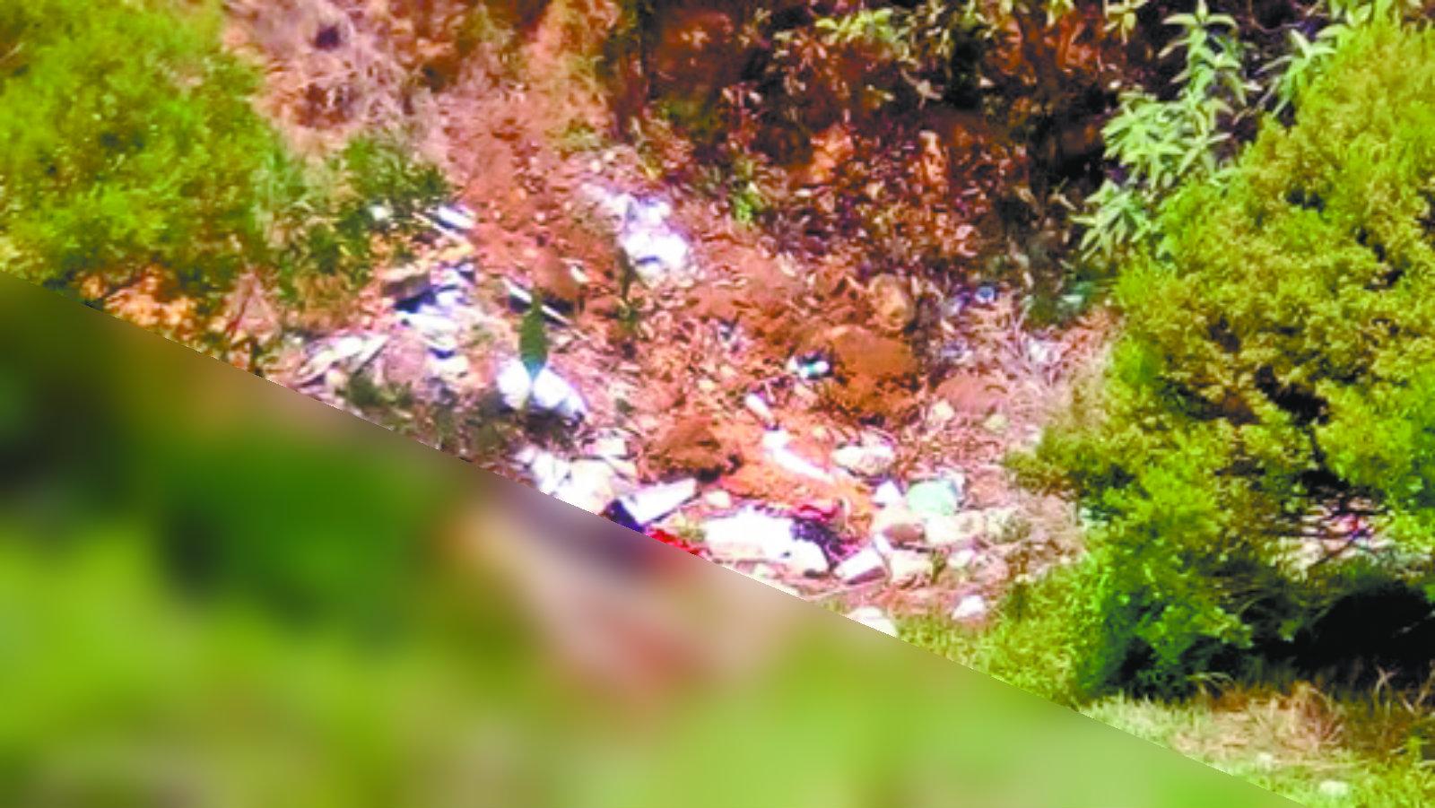 Abandonan cadáver Sin identificar Chica desnuda Feminicidio Edomex Atizapán