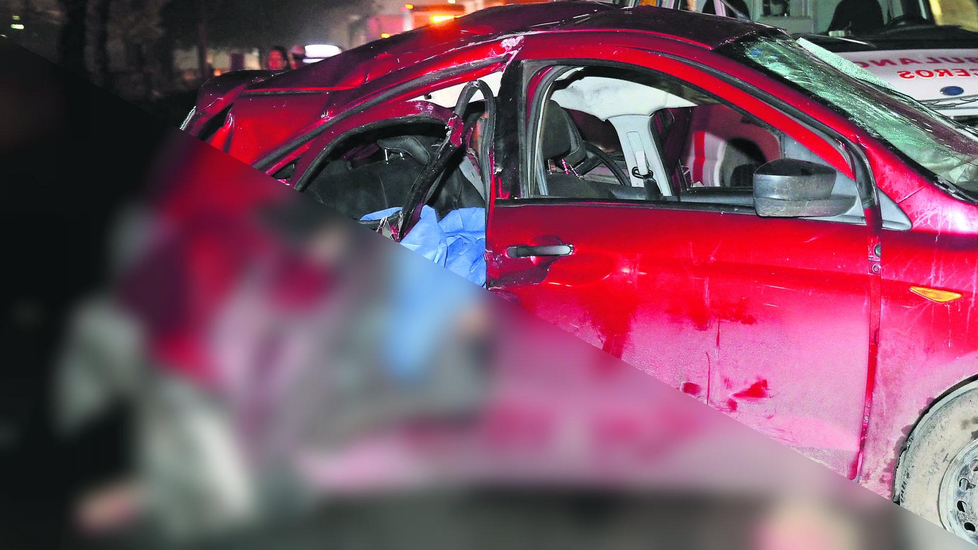 Chocan con auto Mueren dos en choque Exceso de velocidad Responsables escapan Edomex Cuautitlán Izcalli