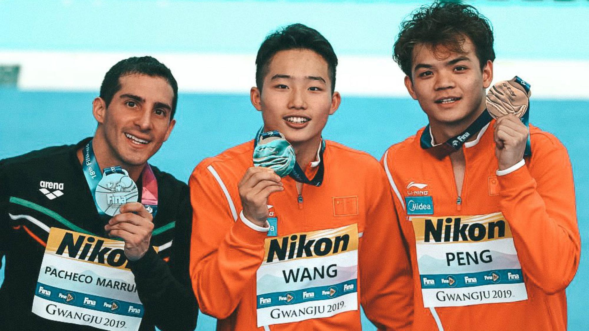 Rommel Pacheco Medalla de plata Salto de un metro Gwangju 2019