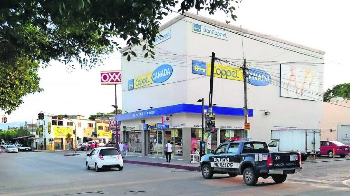 asalto bancoppel amenazan cajera 5 mil pesos robo zacatepec
