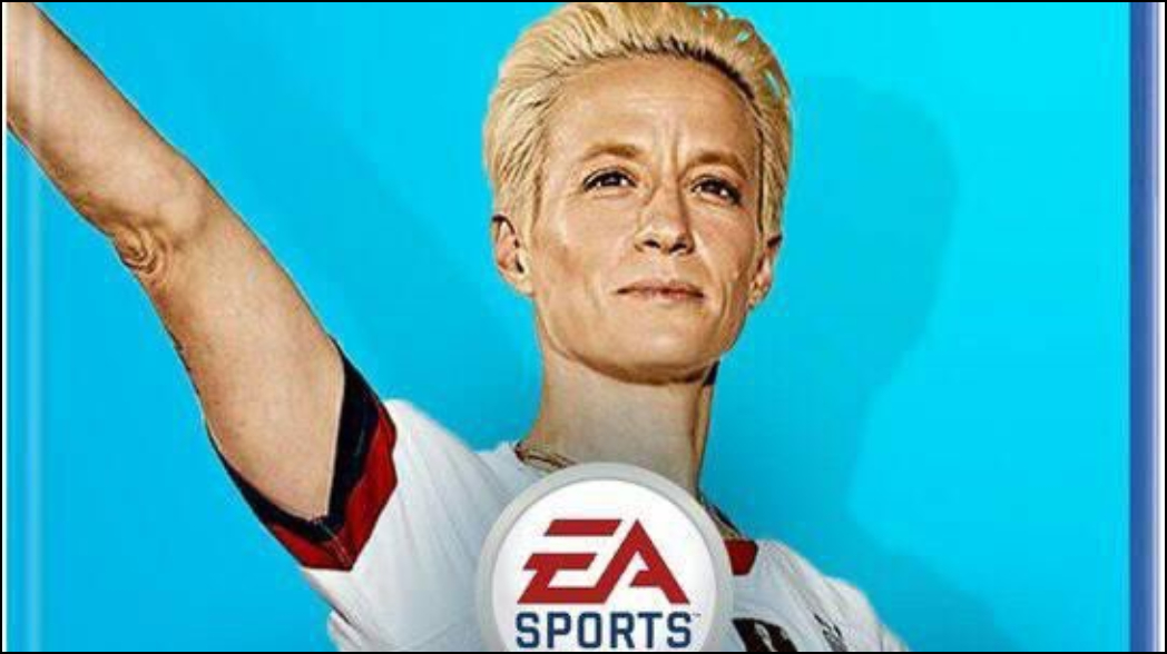 Piden a Megan Rapinoe para portada del FIFA 20