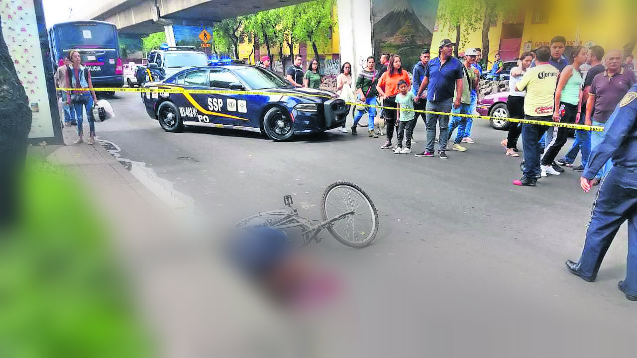 Rafaguean ciclista alcaldía Venustiano Carranza