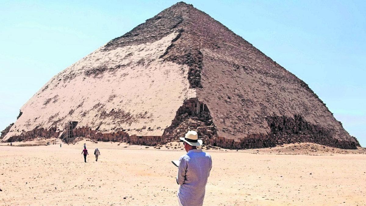 Reabren famosa pirámide Acodada