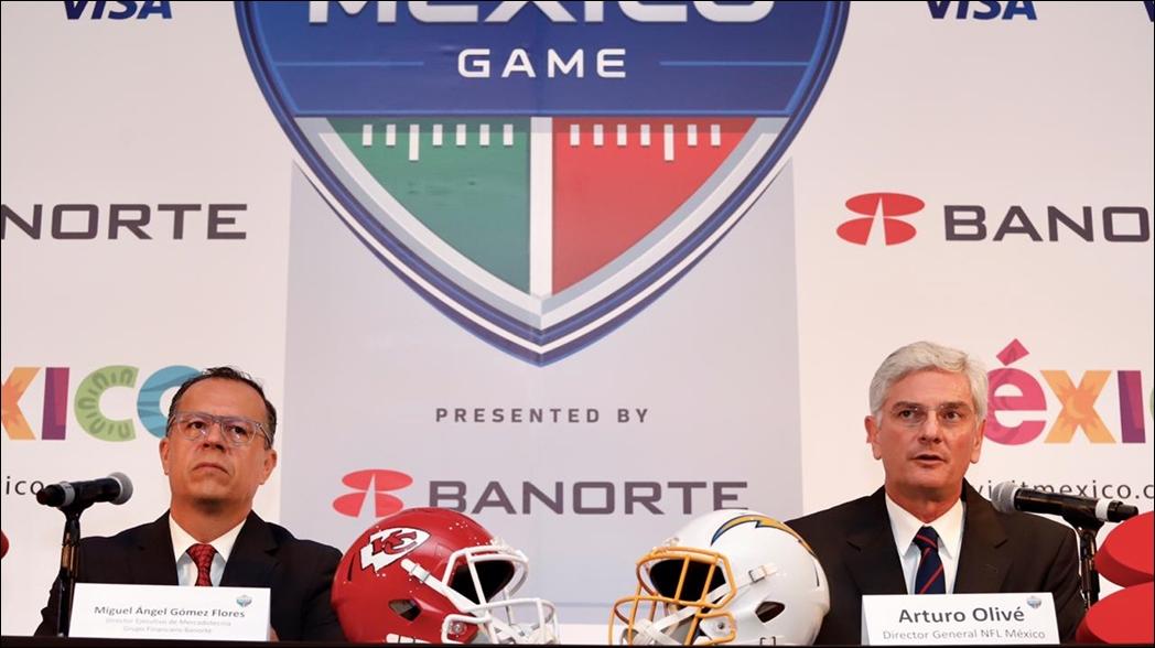 NFL tendrá convenio en México por tres años más