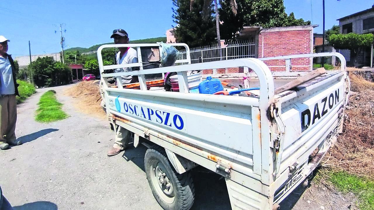 corte de agua por no pagar agua Zacatepec