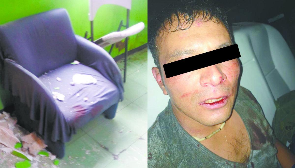 albañil mata a doctor colombiano cobra deuda pelea golpes intentó huir lo detienen autoridades colonia tabacalera