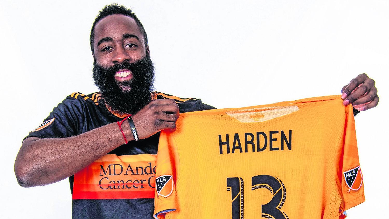James Harden Rockets de Houston Liga Profesional de Futbol de Estados Unidos Houston Dynamo Hosuton Dash NWSL
