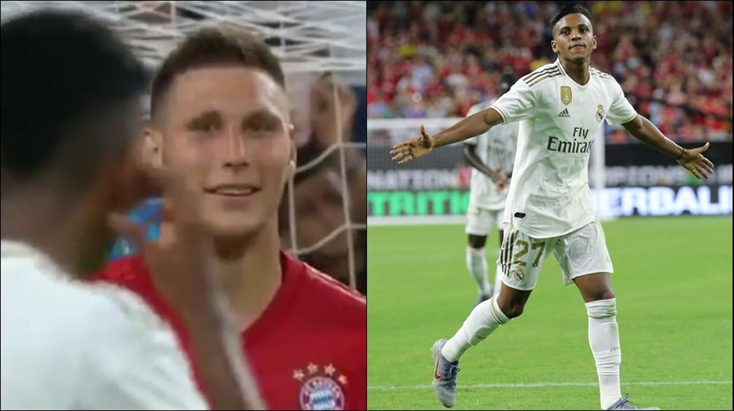 Futbolista del Bayern se burla de delantero del Real Madrid