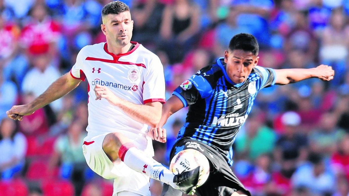 diablos rojos toluca gallos blancos querétaro partido juego futbol Apertura 2019