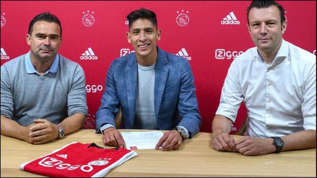Presentan a Edson Álvarez con el Ajax; usará el 4