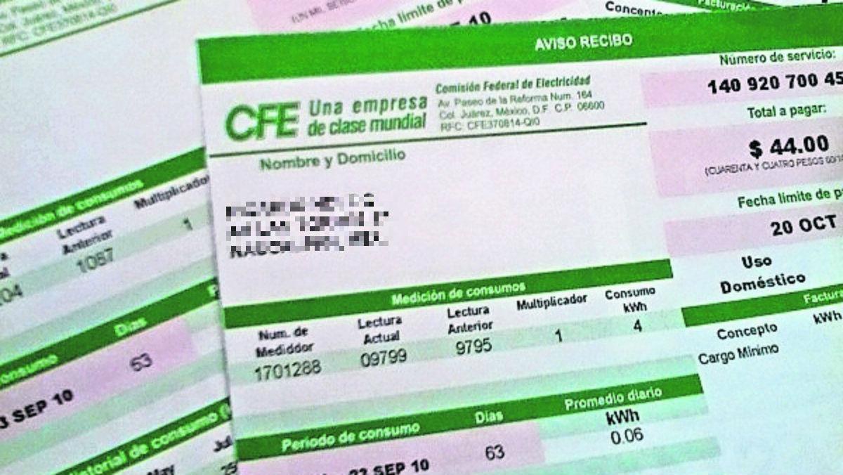 alcaldías cdmx capitales estados de la república deuda deben miles de pesos CFE recibos luz servicio
