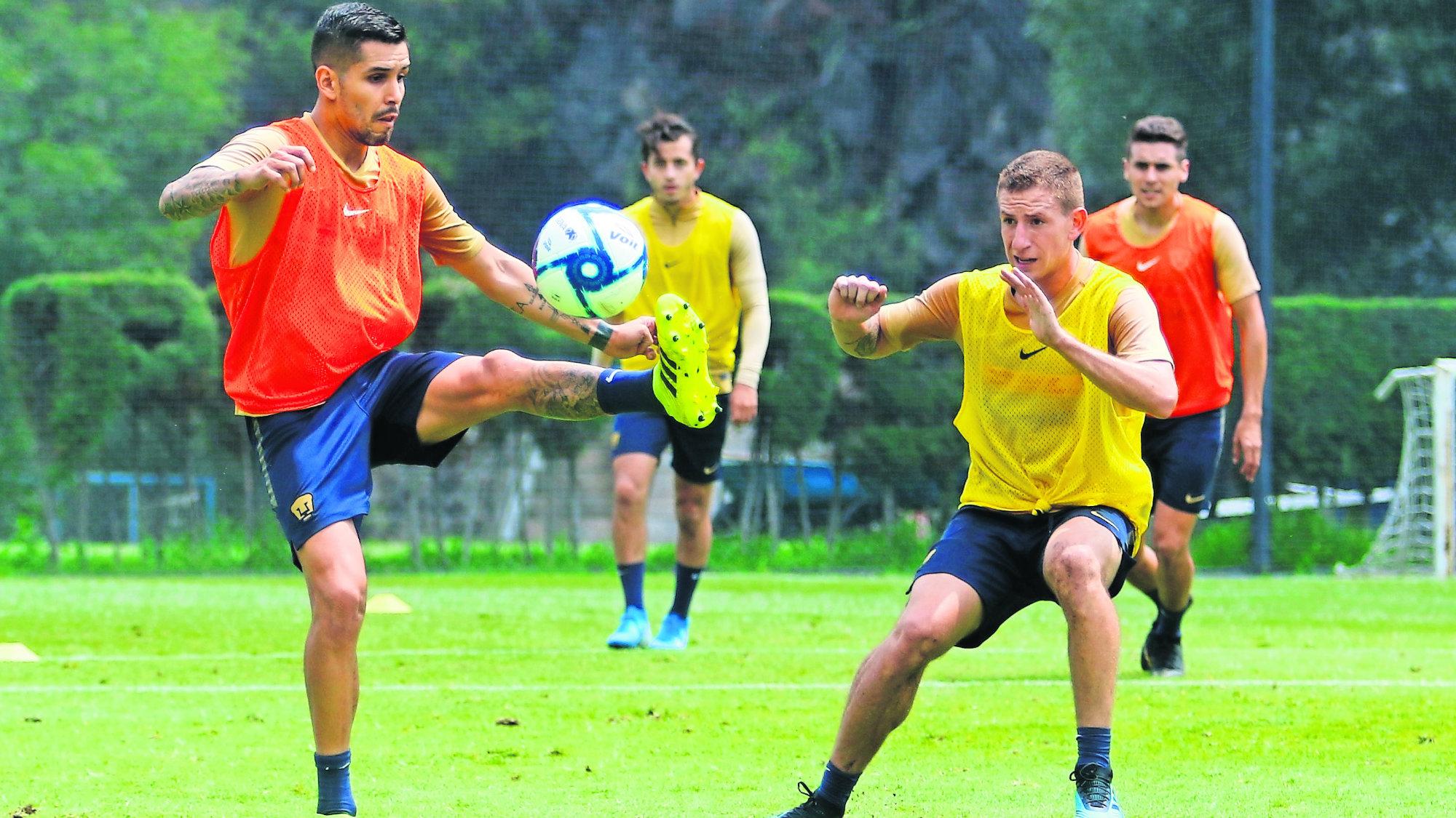 David Cabrera asume el reto como capitán de Pumas