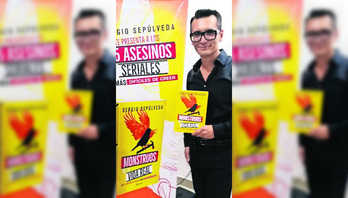 Sergio Sepúlveda presenta libro sobre 15 casos de asesinos seriales