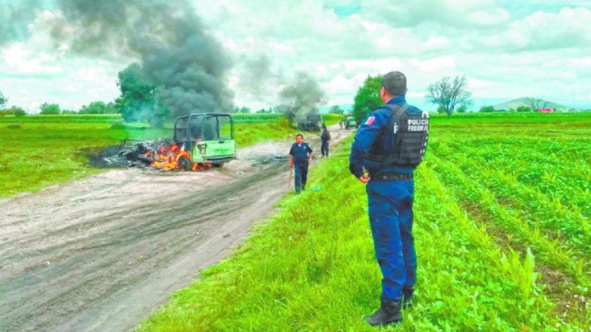 guardia nacional enfrentamiento huachicoleros ducto gasolina combustible tepeaca puebla