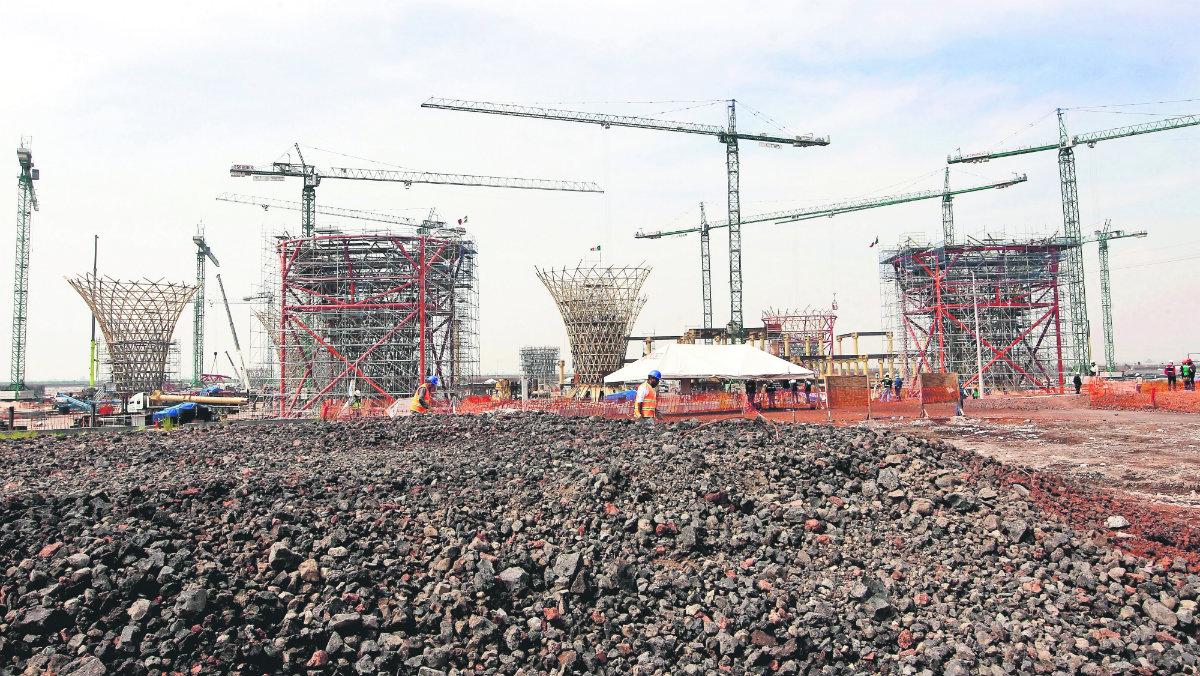 liquidan empresas trabajando construcción nuevo aeropuerto texcoco liquidan deuda amlo