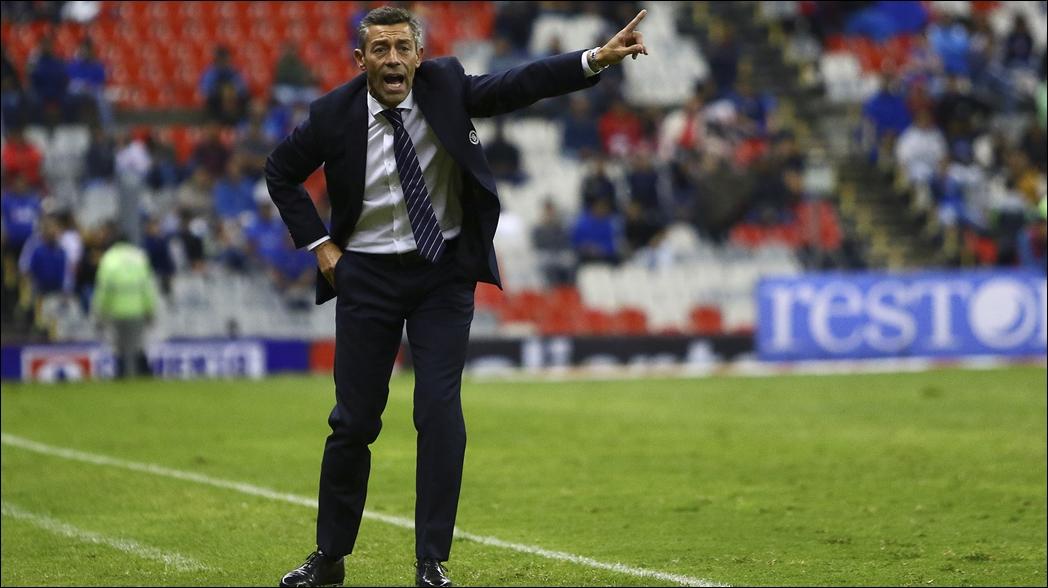 Pedro Caixinha se fue contento a pesar del empate con Toluca