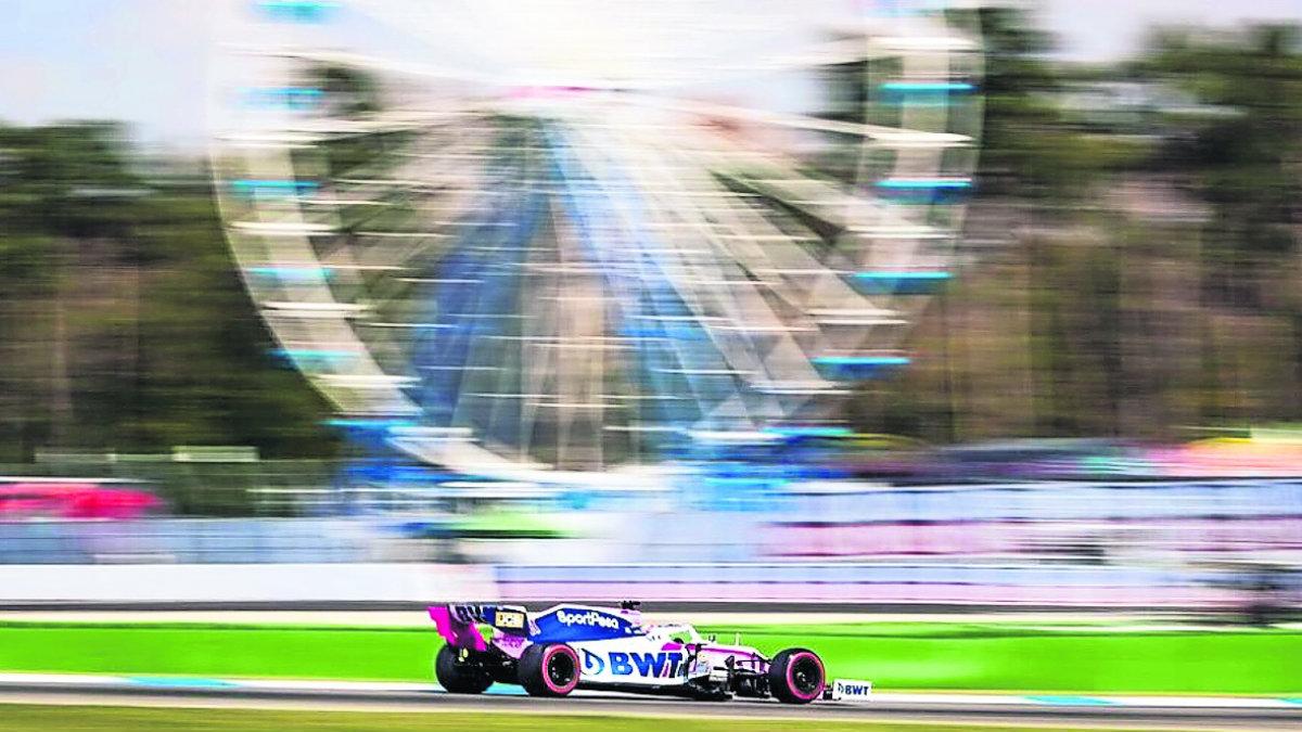 checo pérez se retira gran premio alemania carrera temporada 2019 formula 1