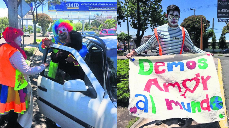 Payasos Metepec Edomex José Luis Parra dulces risas calles